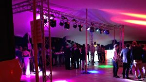 Anniversaire chapiteau original 30 ans ESG Toulouse Bubble avenue