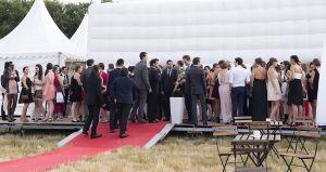 Location de chapiteau Bubble avenue Toulouse soiree de gala