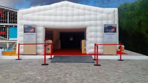 Agence événementiel Toulouse Cinéma-éphémere ONLY EVENT BUBBLE AVENUE